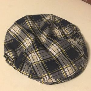 Janie and Jack Accessories - JANIE & JACK Plaid Newsboy Cap, Sz. Toddler